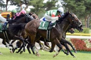 新潟記念(G3) スローの決め手勝負はトランスワープ(大野)!馬群の中から6頭横一線の叩き合い制し重賞連勝!