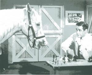 賢い馬と言えば?