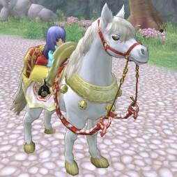 競馬って強くて白い馬が出てきたら盛り上がりそう