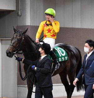 mnewsplus 1612682062 2901 300x314 - 【レース】東京新聞杯(東京・G3) 好位追走カラテ(菅原明)馬群を割って追い比べ制し重賞初制覇!鞍上とトゥザグローリー産駒も重賞初V
