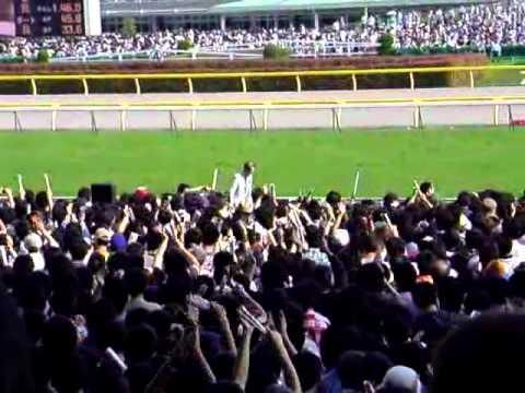 【現地撮影】ディープブリ岩田の後ろに幽霊らしき馬
