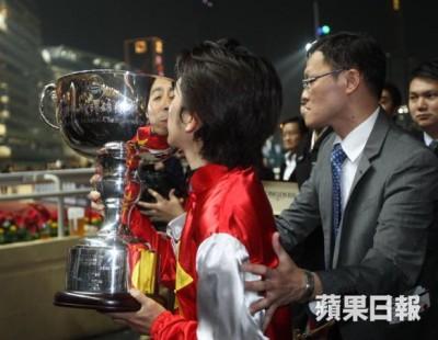 福永祐一騎手が香港IJC優勝