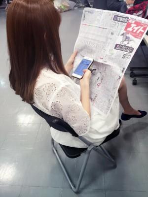 keiba 1436079592 2501 300x400 - AKB48小嶋陽菜が三連単五頭BOXで751倍的中!