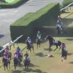 熊沢重文騎手が落馬負傷 頚髄損傷、頭部打撲と診断