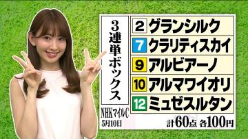 【G1】NHKマイルC 今週もノリ!好位追走クラリティスカイ(横山典)直線鮮やか抜け出し3歳マイル王!