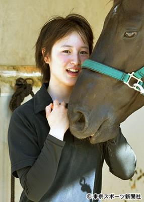 "JRA美女騎手候補生・藤田菜七子""17歳の胸の内""「楽しくて仕方ない」"
