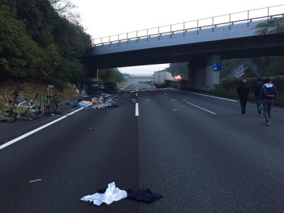 常磐自動車道の大事故で東京競馬場に影響…大渋滞で馬運車間に合わず