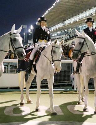 日本最高齢の誘導馬「マコーリー」(30歳)が引退 園田競馬場
