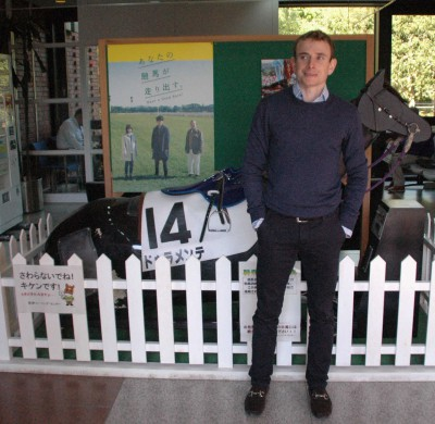 mnewsplus 1447420113 101 400x390 - 今年もライアン・ムーアの季節がやってきた! 「日本の競馬ファンがそんなに自分のことを待ってくれているとは驚きました」