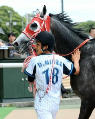 愛馬「リーゼントブルース」が引退…DeNA三浦「彼の思いを背負って投げたい」