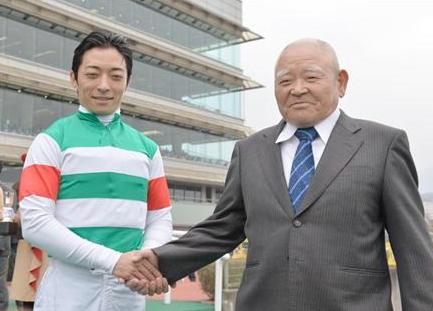 松田博資調教師と川田将雅騎手