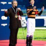 愛馬キタサンブラックがJC制覇 北島三郎オーナー(80)、馬主インタビューで「まつり」を熱唱