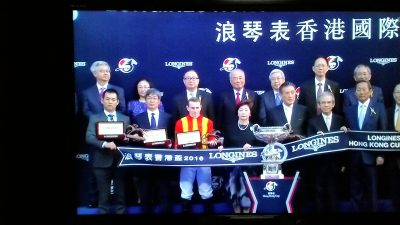 mnewsplus 1481445876 11702 400x225 - 【香港G1】香港カップ 今年はカップでV!モーリス(ムーア)直線抜け出し圧勝!ステファノス3着・ラブリーデイ4着